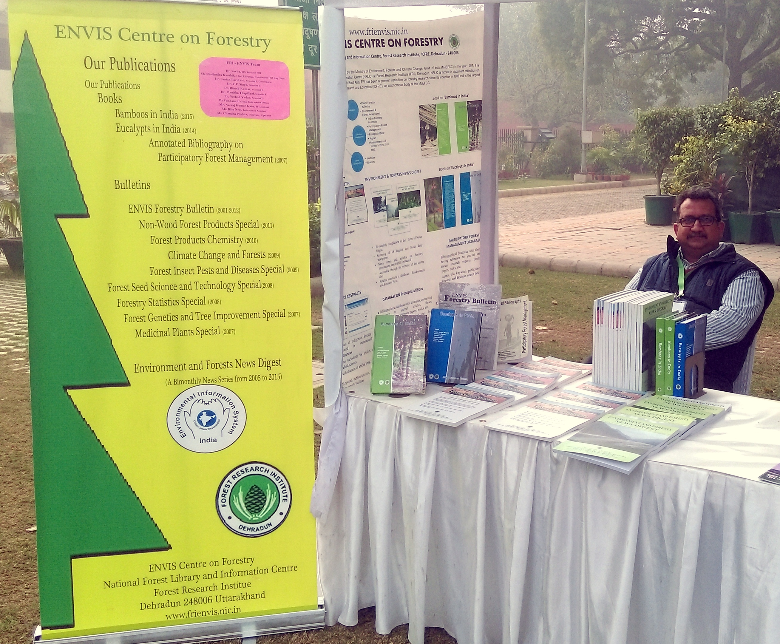 Participation in Exhibition by ENVIS Centre on Forestry