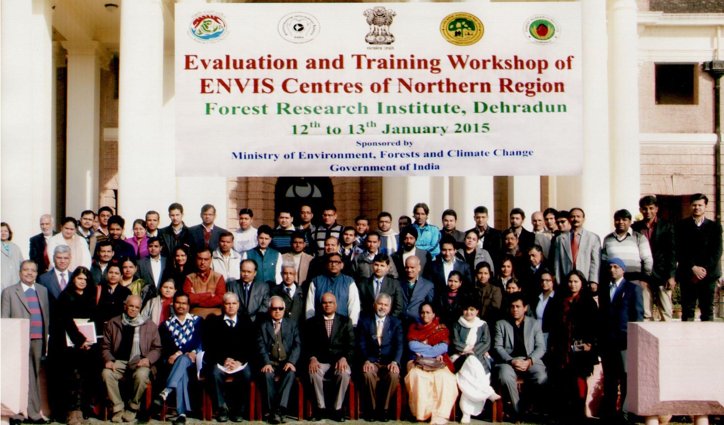 Evaluation Workshop for ENVIS Centres in Northern Region