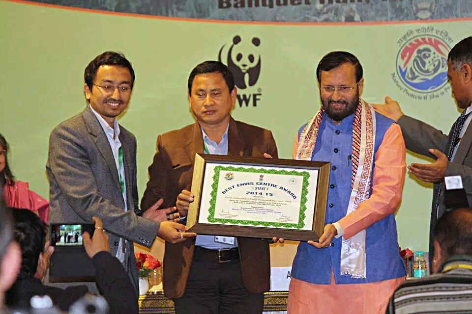 Best State ENVIS centre to Forests, Environment & Wildlife Management Department, Sikkim